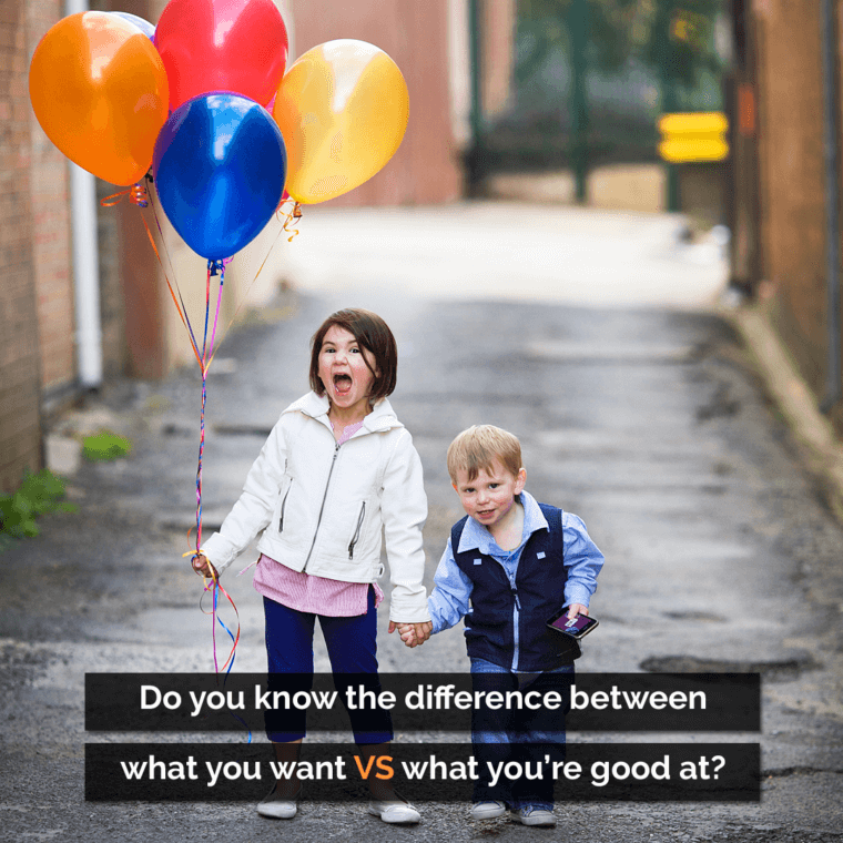 Warren Bennis: Do you know the difference between what you want and what you're good at?